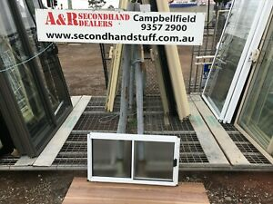 NEW Aluminium SLIDING WINDOWS 500h x 900w (Approx Size) [OBSCURE] 5 COLOURS