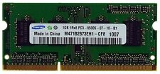 Samsung Computer-DDR3 SDRAMs mit 1GB Kapazität