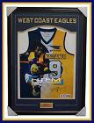 Nic Naitanui Signed West Coast Eagles Impact Limited Edition Jumper Framed AFL