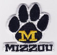 "MISSOURI MIZZOU TIGERS NCAA COLLEGE 1.75"" SCHOOL TEAM LOGO PATCH"