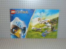 LEGO® Chima Bauanleitung 70101 Target Practice ungelocht instruction B1999