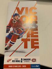 unused season hockey tickets Canadiens featuring Victor Mete march 12  2019