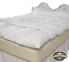 Feather Bed Cover With Zip Closure - Queen