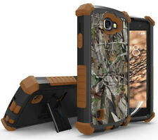 AUTUMN TREE CAMO CASE COVER STAND FOR LG OPTIMUS ZONE-3 /K4/SPREE