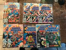DC SUPER POWERS + LEGENDS 1 2 3 4 5 6 doubles vf to nm superman batman shazam