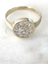14kt yellow gold fine jewelry auction ring size 8 , 3.4 Grams Gold