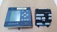 GRUNDFOS CU351 CONTROL PANEL & IO 351 DIGITAL/ANALOG SIGNAL INTERFACE  MODULE