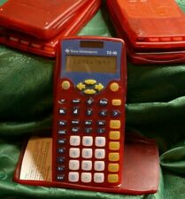 Lot Of Five (5) Texas Instruments Ti-10 Elementary Kids Calculators, Ships Free