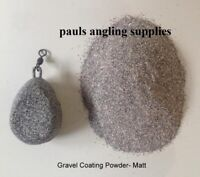 SMOOTH MATT Gravel  Carp Lead / Jig head Mould Coating Powder 1 Litre Tub