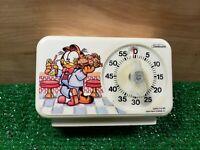 Vintage Garfield 1978 Sunbeam Kitchen Timer/cook Timer read description..