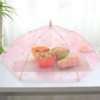 35cm Lace Folding Food Cover Protector Net Mesh Umbrella Table Anti Fly Mosquito