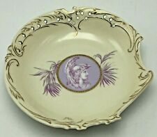 Reticulated Cameo Cabinet Plate Mars Marked Rosenthal Savoy