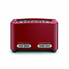 Breville BTA845CB the Smart Toast® 4 Slice Toaster - Cranberry