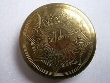 Beflügelte,kleine,antike Puderdose mit Spiegel,  Sulfoderm, reizende,alte Dose