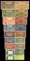 2x 10 - 1000 Gulden - Ausgabe 1917 - 1929 - Reproduktion - 012