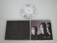 TO BE/WELCOME(OH OUI CD 9101) CD ALBUM