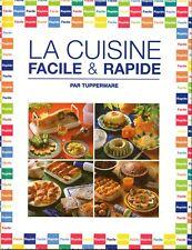 Tupperware Vintage - La cuisine facile et rapide