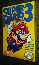SUPER MARIO BROS. 3 NINTENDO  NES BRAND NEW FACTORY SEALED EXCELLENT