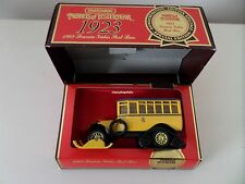 Matchbox Models of Yesteryear LIMITED EDITION Y-16 1923 SCANIA-VABIS POST BUS