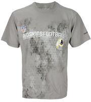 Reebok Men's NFL Washington Redskins Shield T-Shirt, Gray
