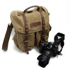 DSLR SLR Camera Laptop Backpack Rucksack Shoulder Knapsack Canvas Bag FOR Canon