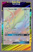 Tauros GX Secret Rare -SL1:Soleil et Lune-156/149-Carte Pokemon Neuve Française