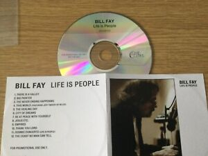 Promotional cd album- Bill Fay- Life Is People