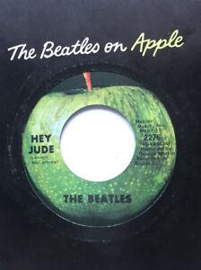 The Beatles 45 Hey Jude APPLE ORIG. NM