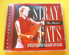 """CD """" STRAY CATS - THE MASTERS """" BEST OF / 20 SONGS (ROCK THIS TOWN)"""