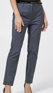 Ladies size 16 Preview Graphite ankle slim pants with belt  New RRP$39
