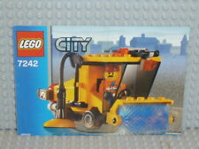 LEGO® City Bauanleitung 7242 Street Sweeper ungelocht instruction B3840