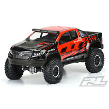PROLINE CHEVY COLORADO ZR2 CLEAR BODY FOR 313MM CRAWLER