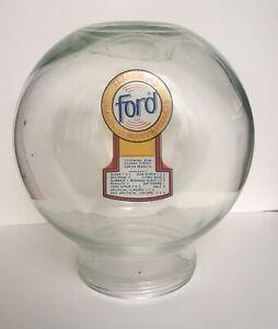 NEW Old Stock Glass Antique Ford Gum Machine Globe RARE