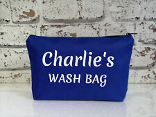 personalised boys girls accessories bag wash bag cosmetic pouch birthday gift *