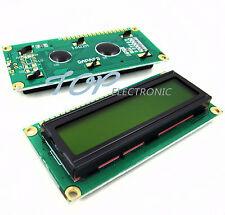 10pc 1602 16x2 Character LCD Display Module HD44780 Controller Yellow Blacklight