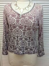 Liz & Co., Pullover casual Ombre top, 100% Cotton,  Size PL, EUC