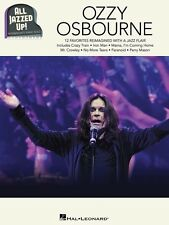 OZZY OSBOURNE - All Jazzed Up Piano Book *NEW* Music Songs