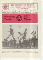 OL 79/80  BSG Sachsenring Zwickau - BFC Dynamo Berlin