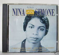 NINA SIMONE THE BEST OF THE COLPIX YEARS CD