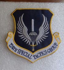 USAF FLIGHT SUIT PATCH,  724th SPECIAL TACTICS GROUP, NEW, GERMAN MADE