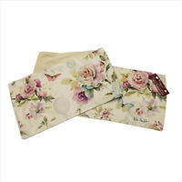 Pastel Floral Roses Table Runner 13x72 inches