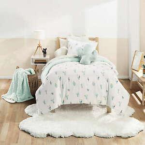UGG® Cactus Bloom 3-Piece Full/Queen Comforter Set in Mint