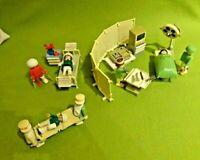 Playmobil Spielset aus 3459 Operationssaal Krankenzimmer Krankenhaus Vintage