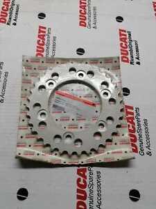 Corona Originale Ducati Z 39 in Ergal per Ducati MONSTER S4 ST Codice 968187aaa