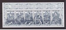 New Zealand 1990 British  Royalty History Penny Black mint MNH sheet