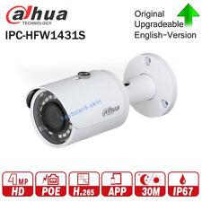 Dahua IPC-HFW1431S 4MP WDR IR Mini-Bullet Network IP Camera CCTV H.265 30m IR