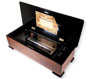 Antique GUEISSAZ Madoline Tremolo FULLY RESTORED Music Box (Video Inc.) C.1890