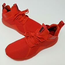 Puma Enzo Mens Red Training Athletic Shoes Size 8.5