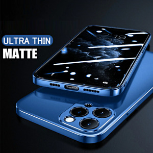 COVER per iPhone 12 Pro Max Mini CUSTODIA ULTRA SLIM MATTE + VETRO TEMPERATO 9H