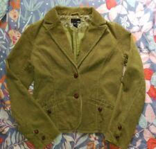 H&M Green Corduroy Jacket size 6